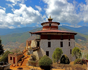 Bhutan National Museum in Paro