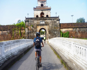 Hue City Tour and Cycling to Thanh Toan Bridge Full Day