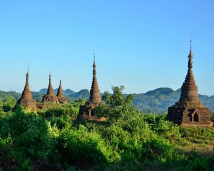 The hidden city of Mrauk 7 days