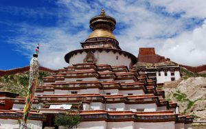 The Kumbu Is the Most Famous Architecture in Palcho Monastery