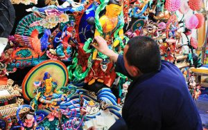 Ornate Sculptures Made by Tibetan Butter
