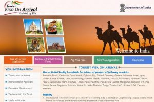 getting an e-visa for India